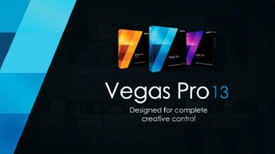 Sony Vegas Pro 13 Free Download