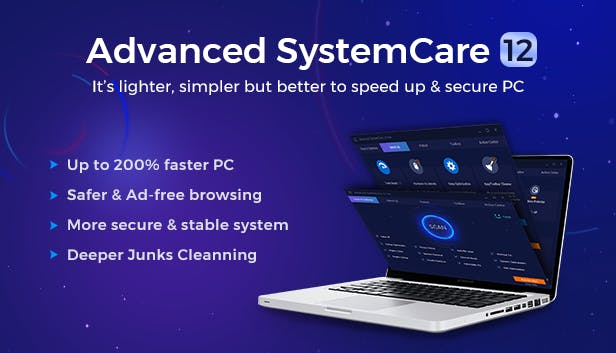 IObit Advanced SystemCare Pro 12 Free Download