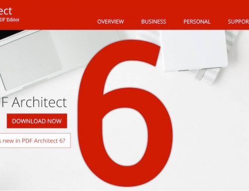 PDF Architect 6 Pro Free Download
