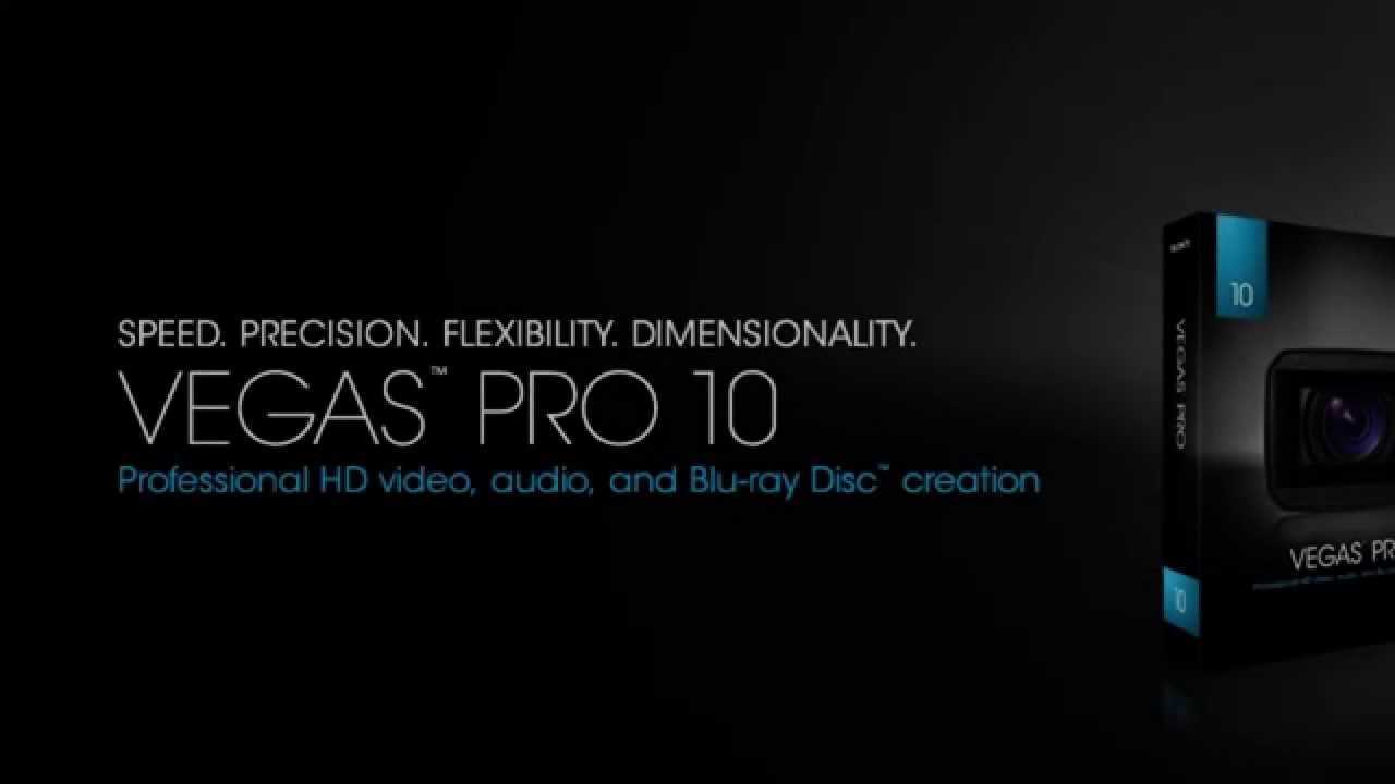 Sony Vegas Pro 10 Free Download
