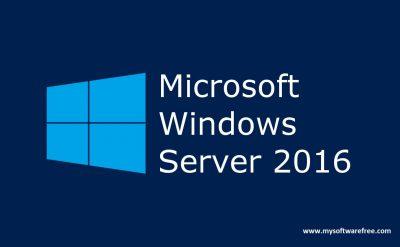 Windows Server 2016 Free Download