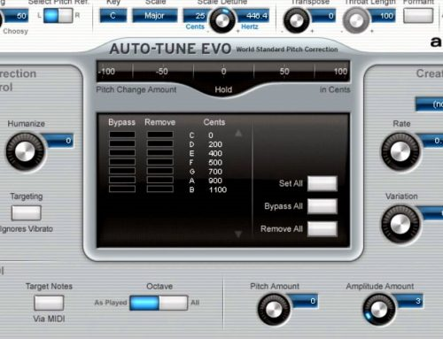 Auto-Tune Evo VST v6.0.9 Free Download