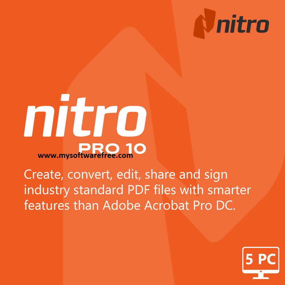 Nitro Pro v10.5.1.17 Free Download
