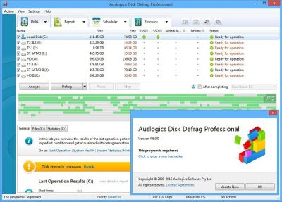 Auslogics Disk Defrag Pro v9.1.0 Free Download