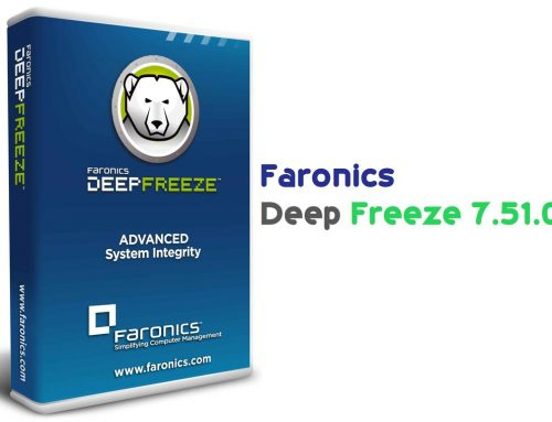 Faronics Deep Freeze Standard Edition v7.51.020.4170 Free Download