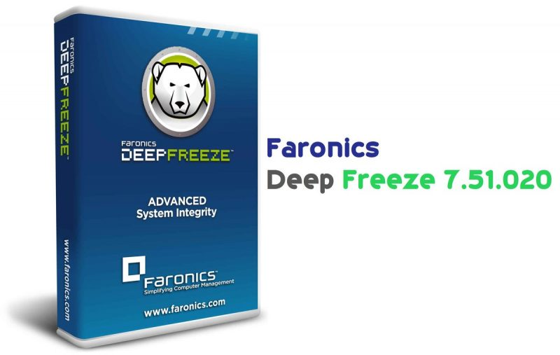 Faronics Deep Freeze Standard Edition v7.51.020.4170 Free Download