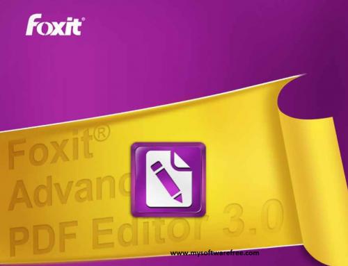 Foxit Advanced PDF Editor v3.0.5 Free Download
