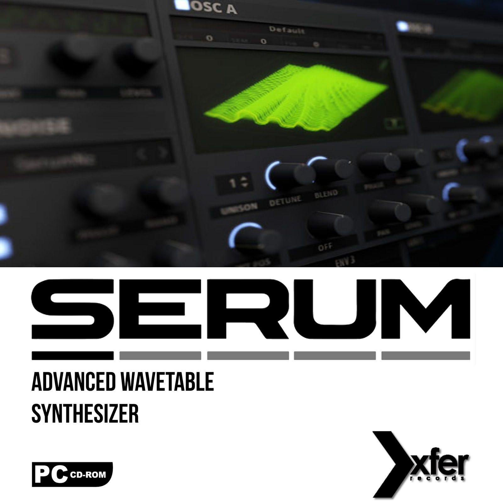 Xfer Records Serum v1.11b3 (Incl. Cymatics Kits) Free Download