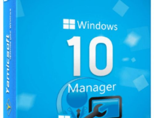 Yamicsoft Windows 10 Manager v3.1.5 Free Download