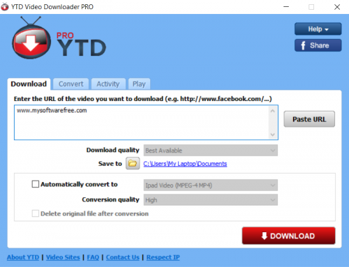 YouTube Video Downloader Pro v5.7.1.0 Free Download