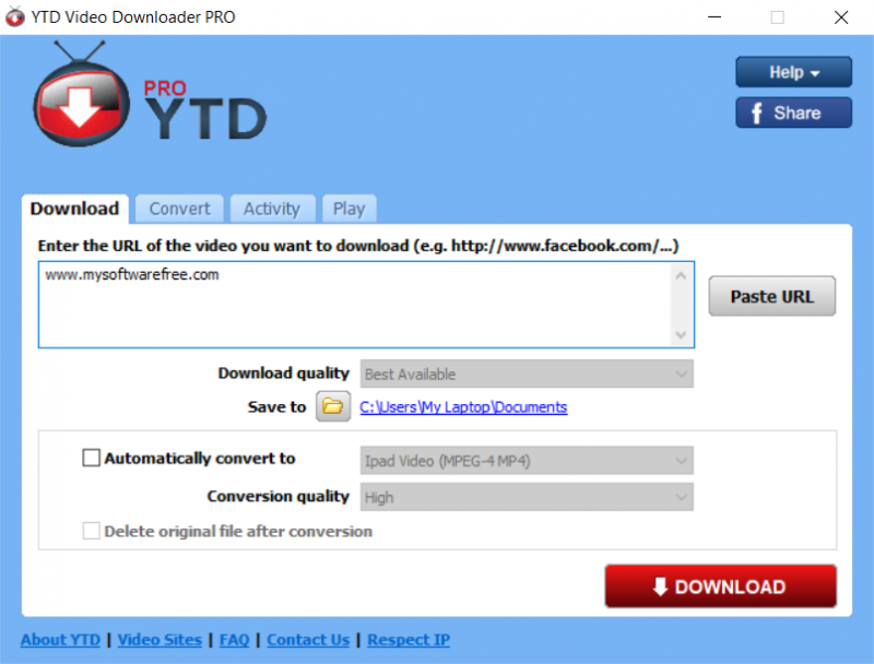 YouTube Video Downloader Pro v5.7.1.0 Free Download