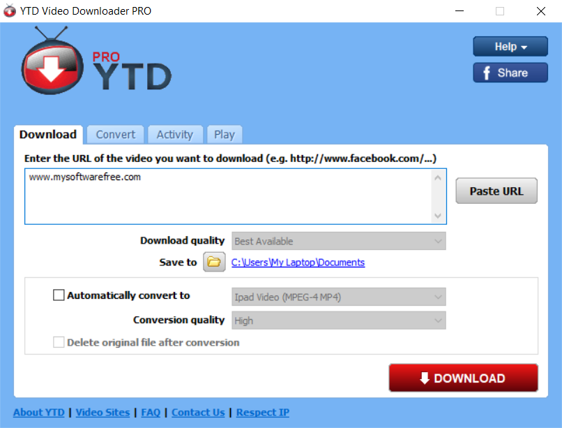 ytd pro free download with crack