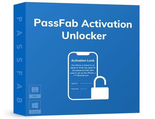 PassFab Activation Unlocker Free Download (v2.1.0.0)